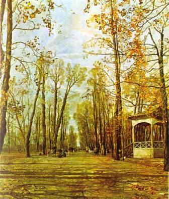 «Летний сад осенью» - И. Бродский