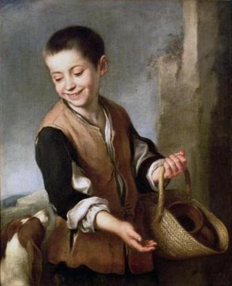 «Мальчик с собакой» - Б. Мурильо