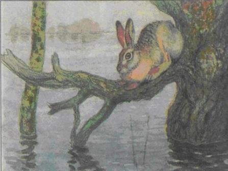 «Наводнение» - А.Н. Комаров