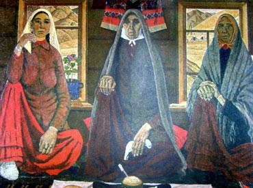 «Три женщины» - А.Ф. Лутфуллин