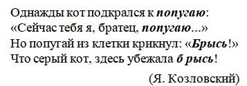 Примеры слов-омонимов в литературе
